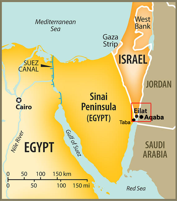 Map Of Egypt Isreal Jordan And Saudi Arabia Google Search Maps - Detailed map of egypt and jordan