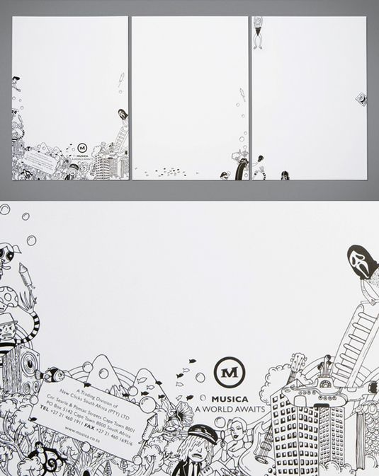 Beautiful Examples Of Letterhead Design  Letterhead Design