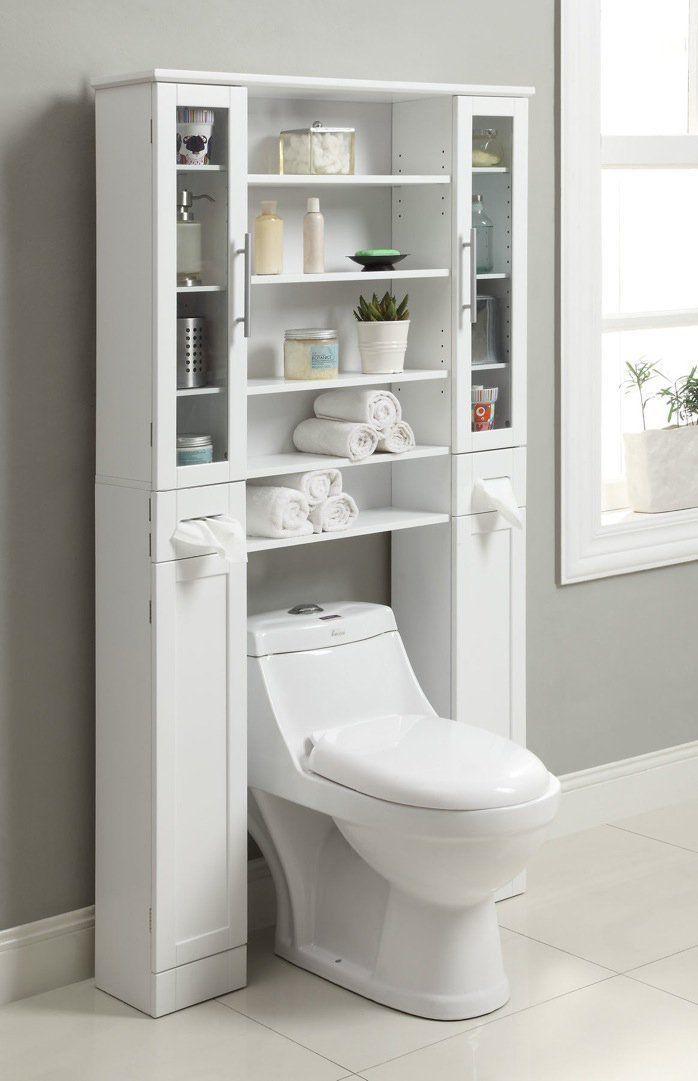 Wes Home Furniture Badezimmer Credenza Elegance Serie 36 X 8 X 67 3 8 Zoll W Mobel Diy Dekoration In 2020 Bathroom Storage Over Toilet Apartment Storage Bathroom Interior