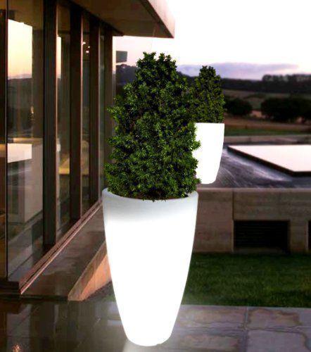 point garden blumenk bel pflanzk bel beleuchtet. Black Bedroom Furniture Sets. Home Design Ideas