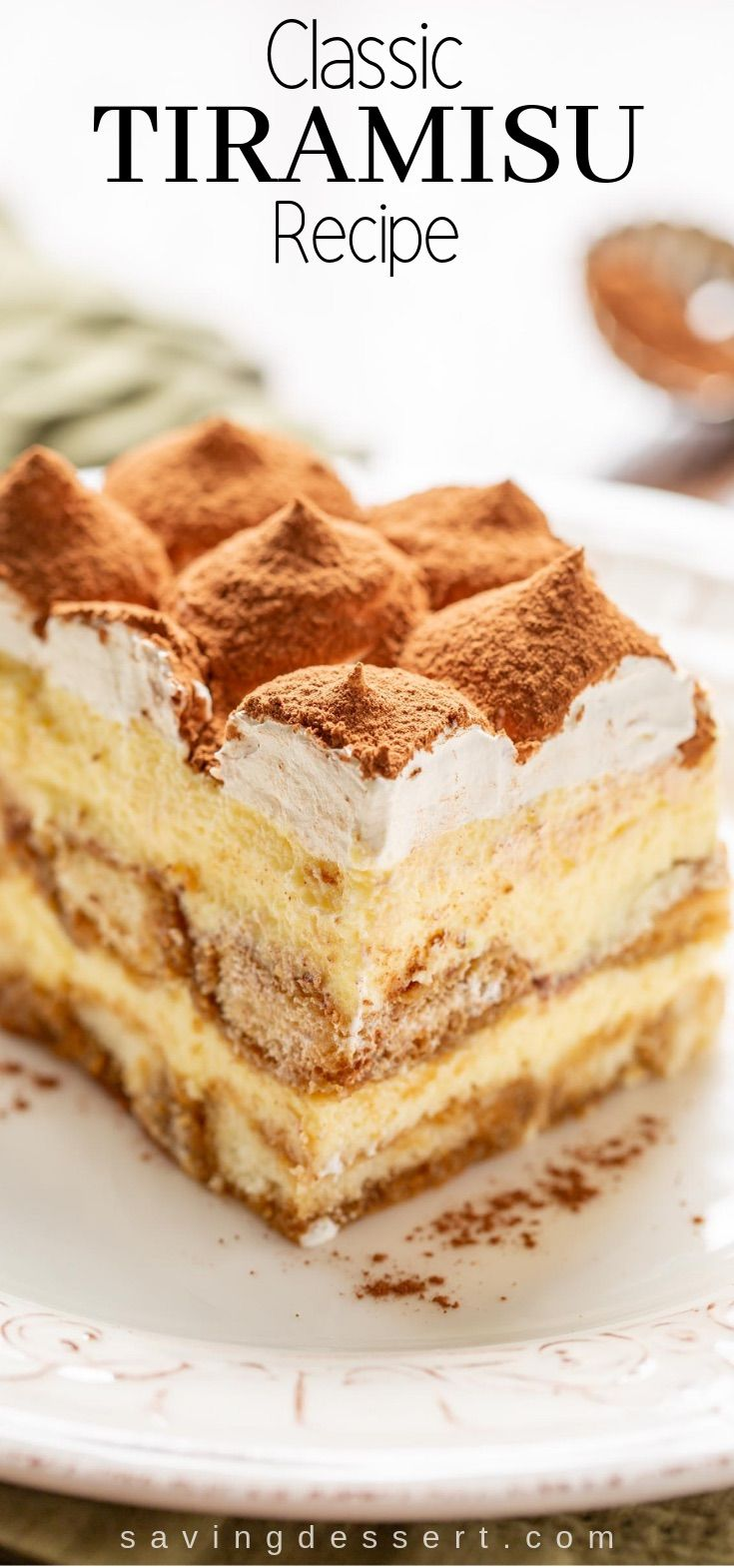 Tiramisu You don't have to be Italian to enjoy this coffee-flavored Tiramisu with a little something extra from the Kahlua liqueur.