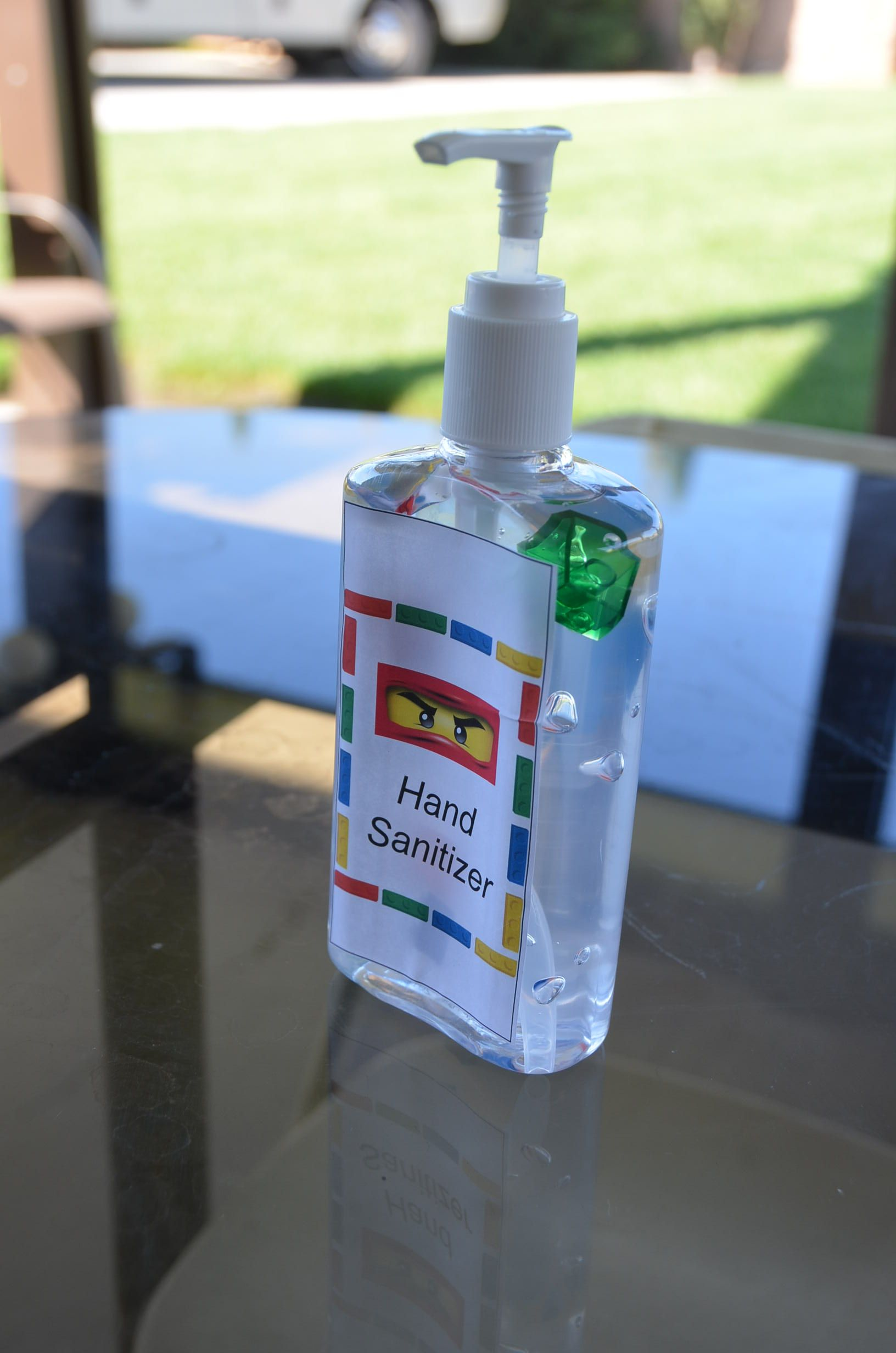 Lego Party On A Budget Hand Sanitizer Dollar Store Put Some