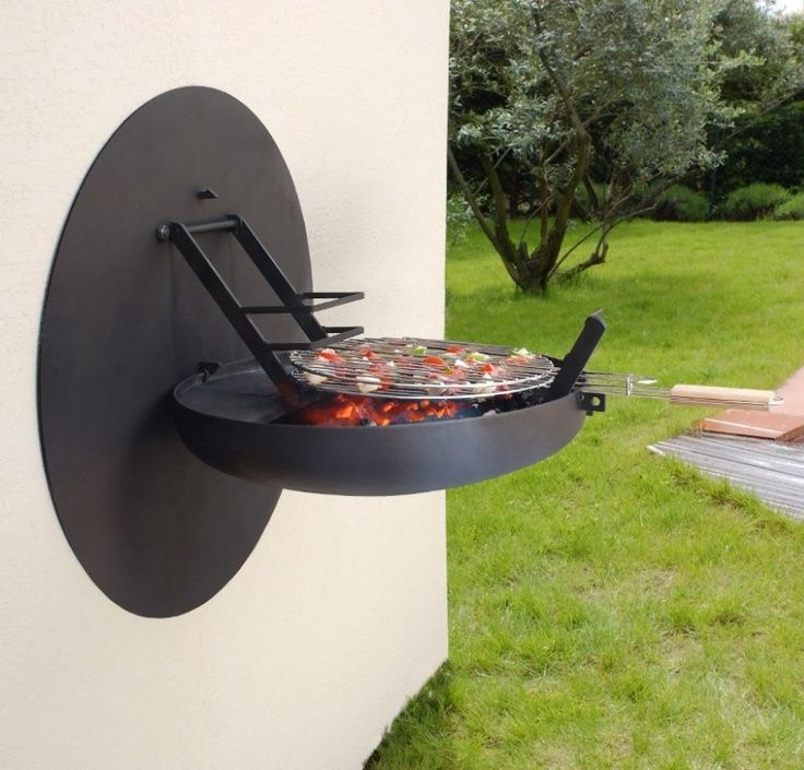 Sigmafocus Wall Mounted Barbecue Grill