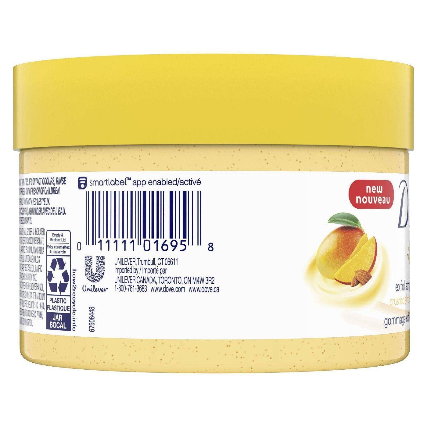 Dove Crushed Almond Mango Butter Exfoliating Body Polish Scrub 10 5 Fl Oz Affiliate Mango Ad Butter Exfoli In 2020 Mango Butter Body Polish Vaseline Bottle