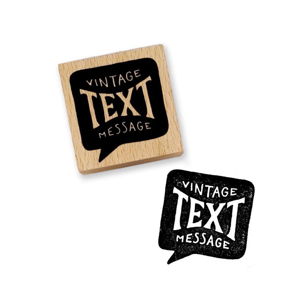 Vintage Text Message Stamp Vintage Text Pencil Gift Planner Pens