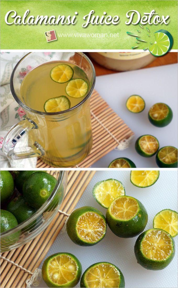 Calamansi Juice Detox Drink For Beauty And Health Calamansi
