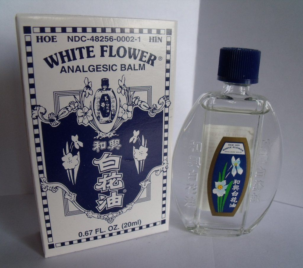 White Flower Oil Analgesic Balm Pain Reliever