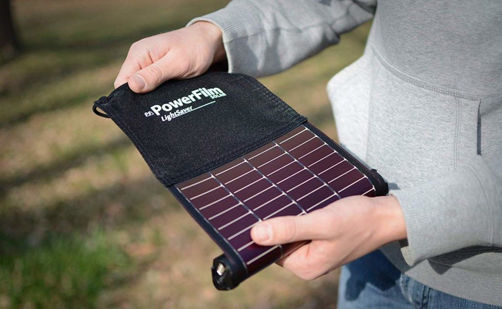 Lightsaver Roll Up Solar Charger Keeps Your Phone Charged Even Off The Grid Flexible Solar Panels Solar Panels Best Solar Panels