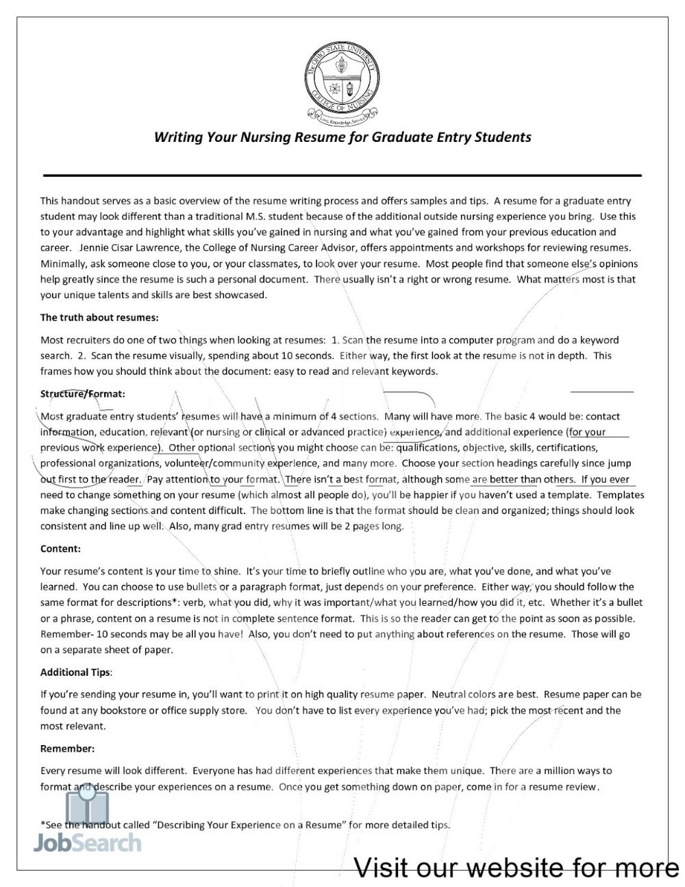 Nurse Resume Writing Services 2020 Nurse Resume Writing