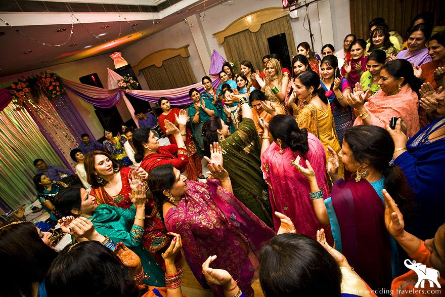 What Is Any Indian Wedding Without Some Dance Wance Balle