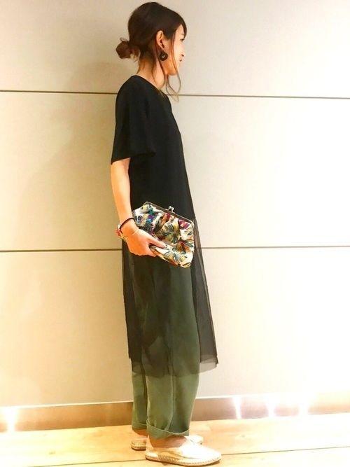大人の ゆるカジ コーディネート 夏は涼しくゆるゆるでいこう Yahoo Beauty ファッションアイデア プチプラ ファッション ファッション