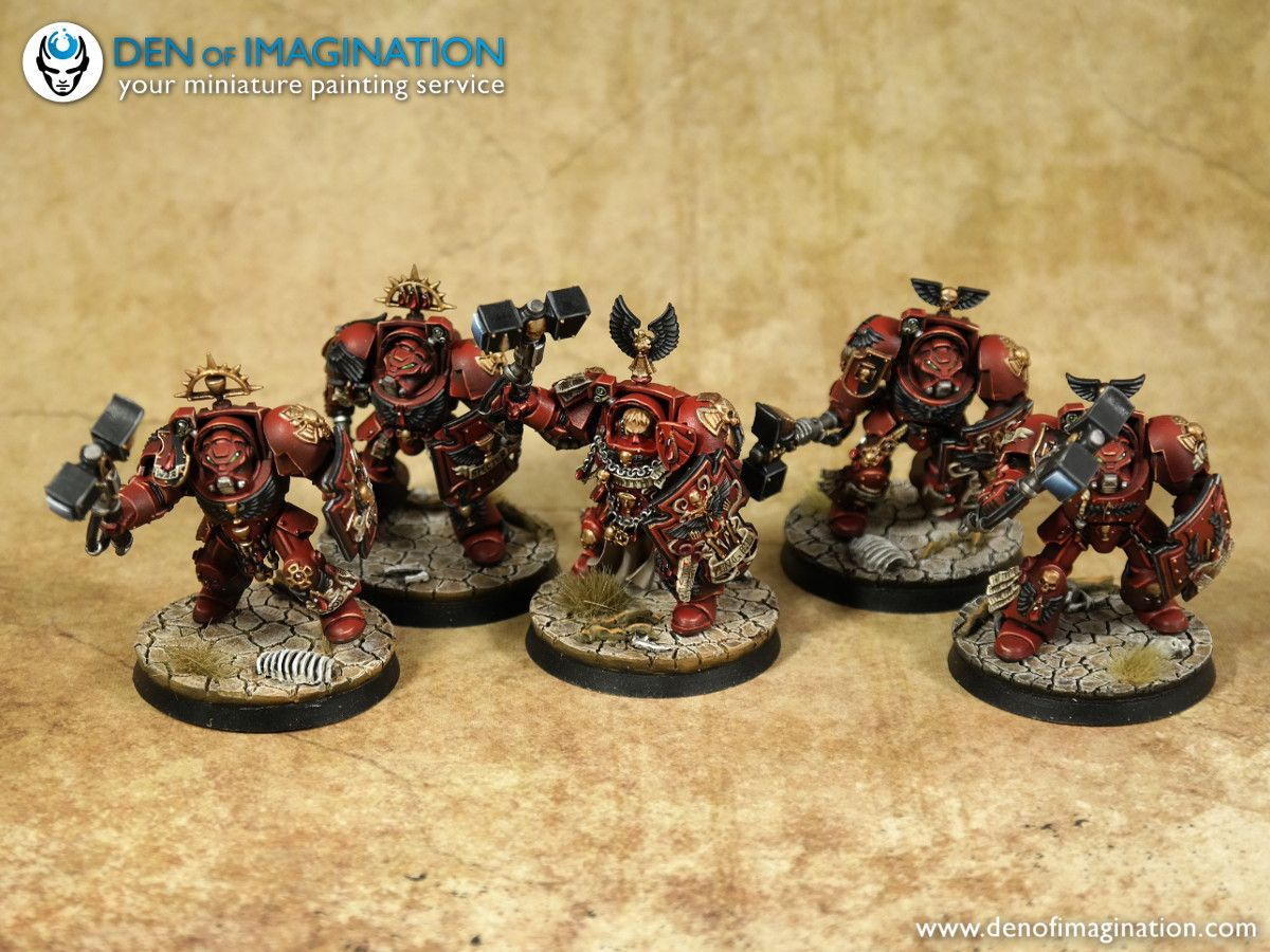 Blood Angels GIGA Army ~ DEN OF IMAGINATION Miniature Painting Service