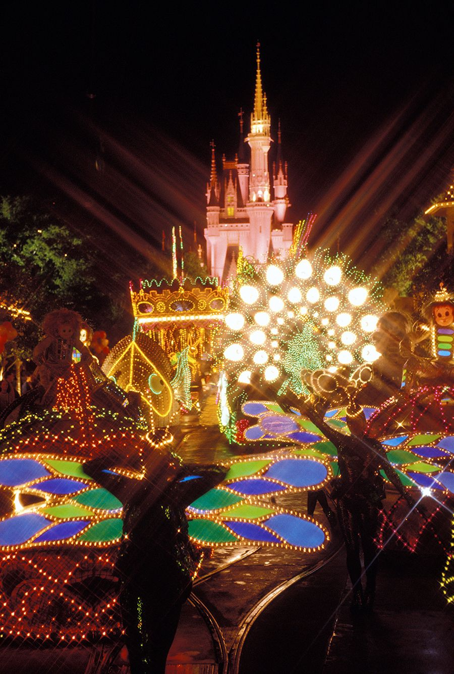 Spectro Magic 1991 Disney electrical parade, Disney