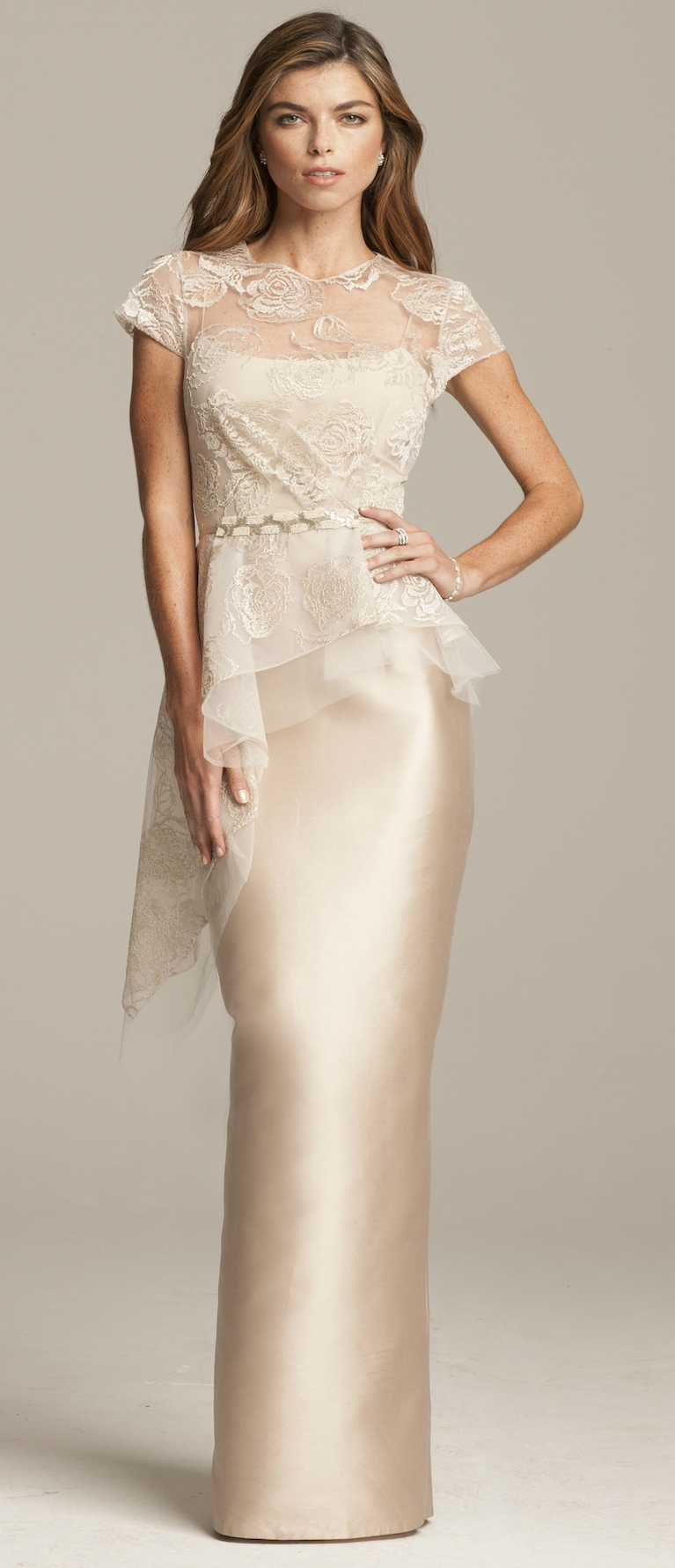 3b41e0996d9 Champagne mother-of-the-bride gown