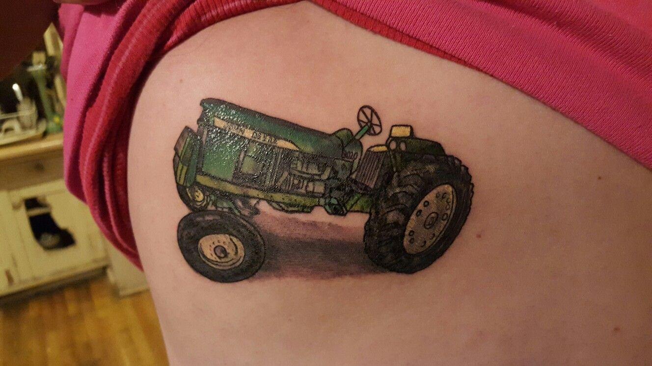John deere tractor for my dear grandfather❤ | tattoos | Trucker ...