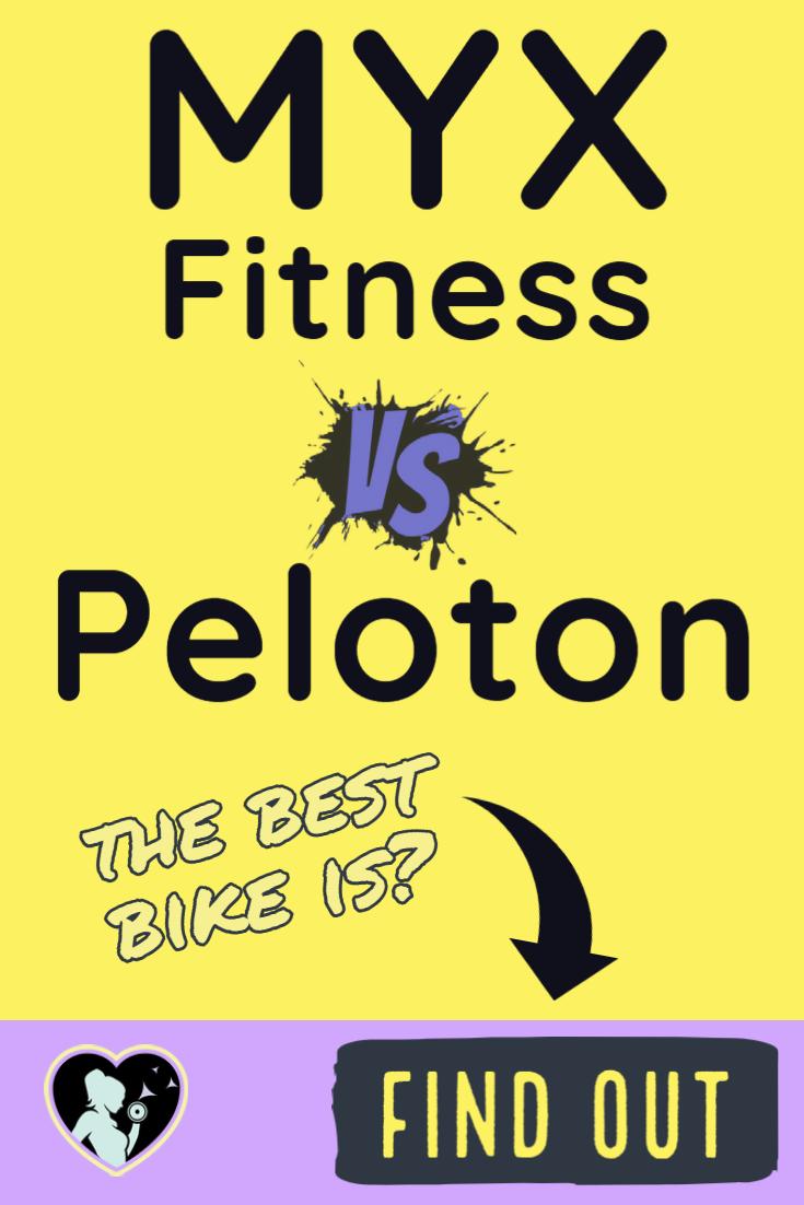 Comparing The Myx Fitness Bike Vs Peloton Can The Budget Bike Compete Biking Workout Fitness Peloton
