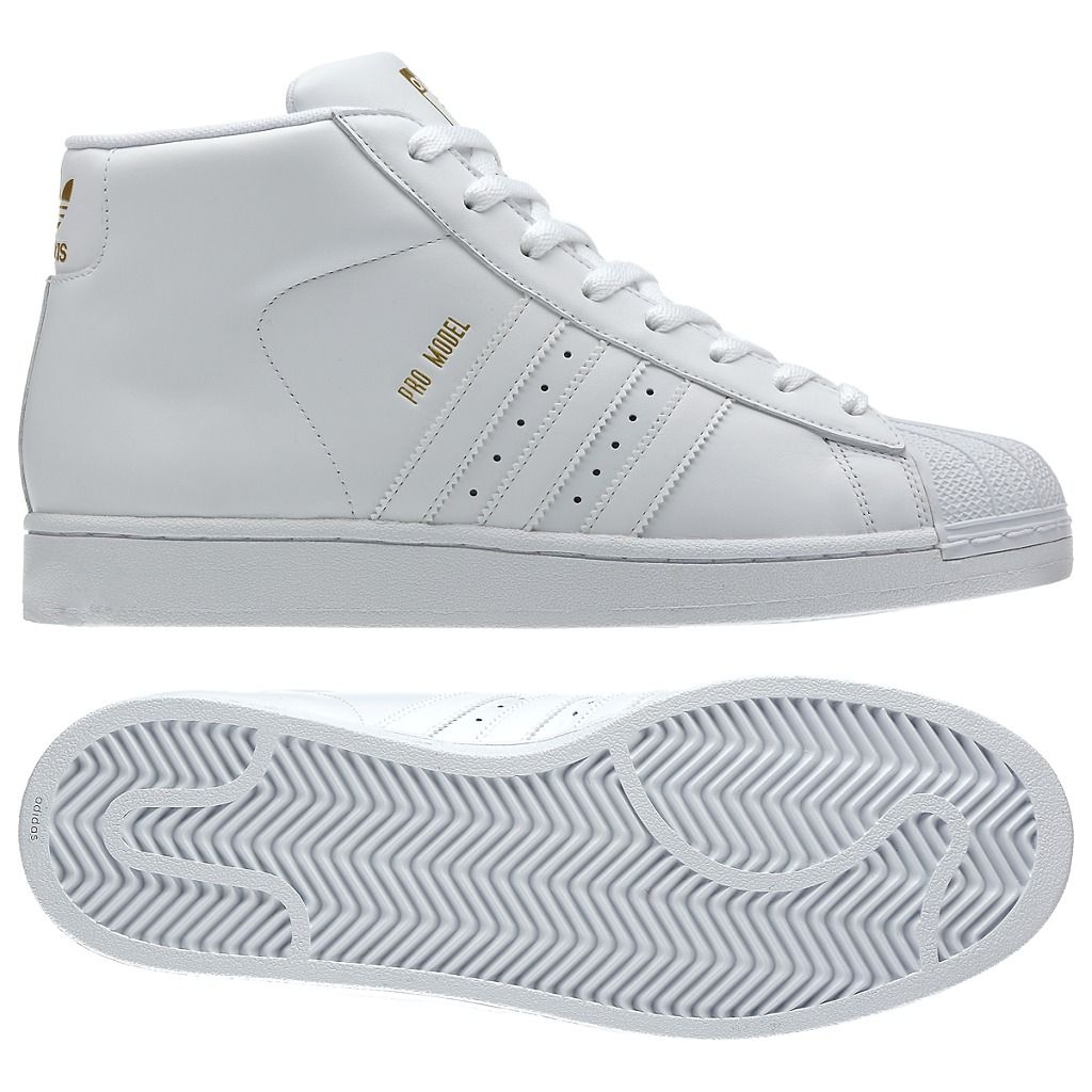 all white high top shell toe adidas