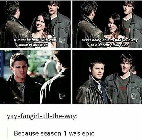 Season 1 One Of The Best Lines In That Episode Supernatural