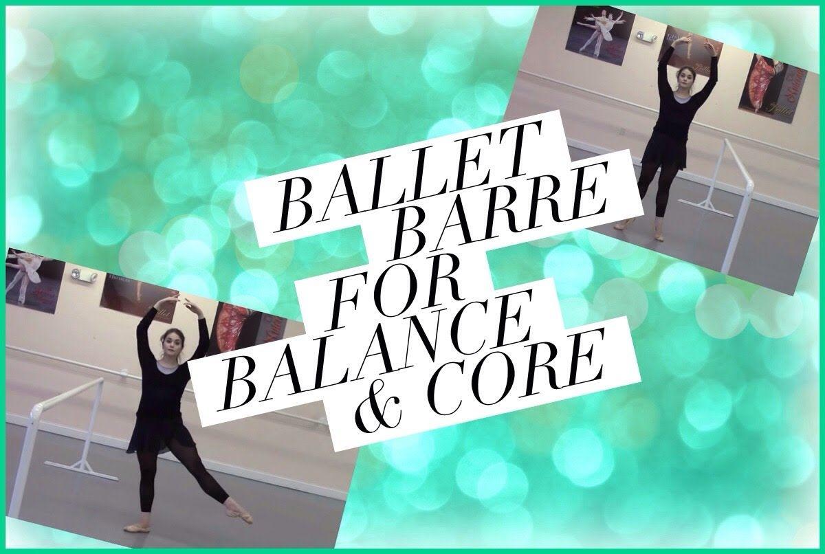 Ballet Barre Workout for Balance & Core   Kathryn Morgan