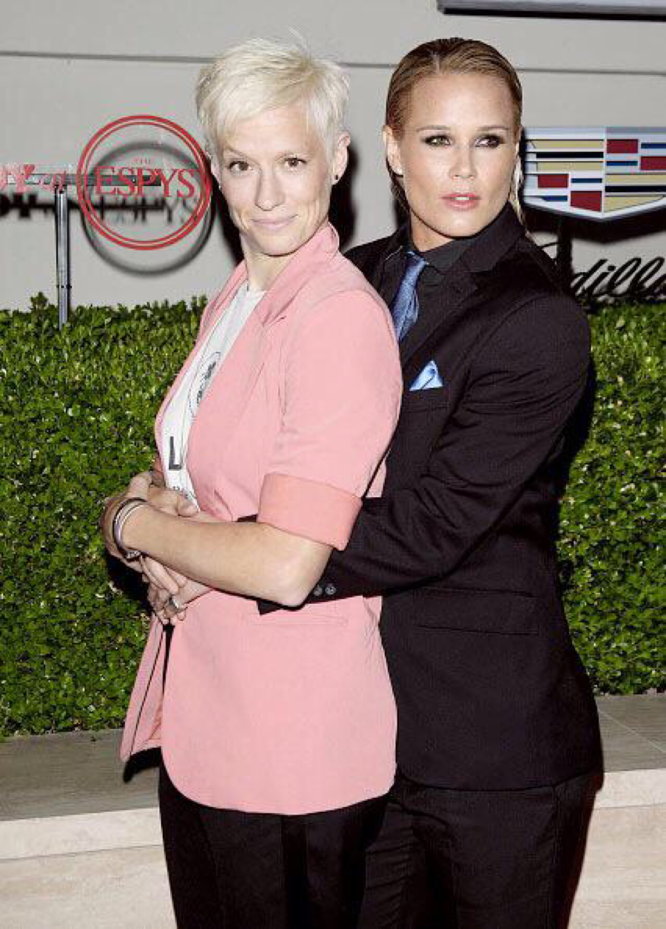 The gals official prom pic. @mPinoe