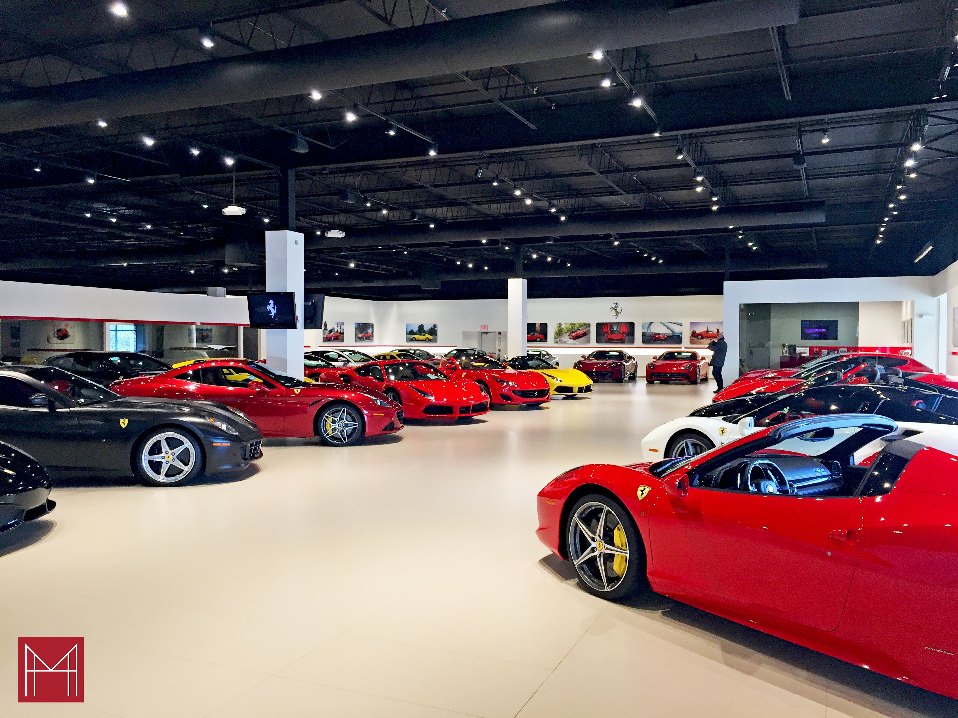 Ferrari Showroom Ferrari Showroom Ferrari Architect