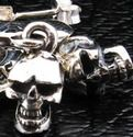 Mad Skull Dangle Earrings