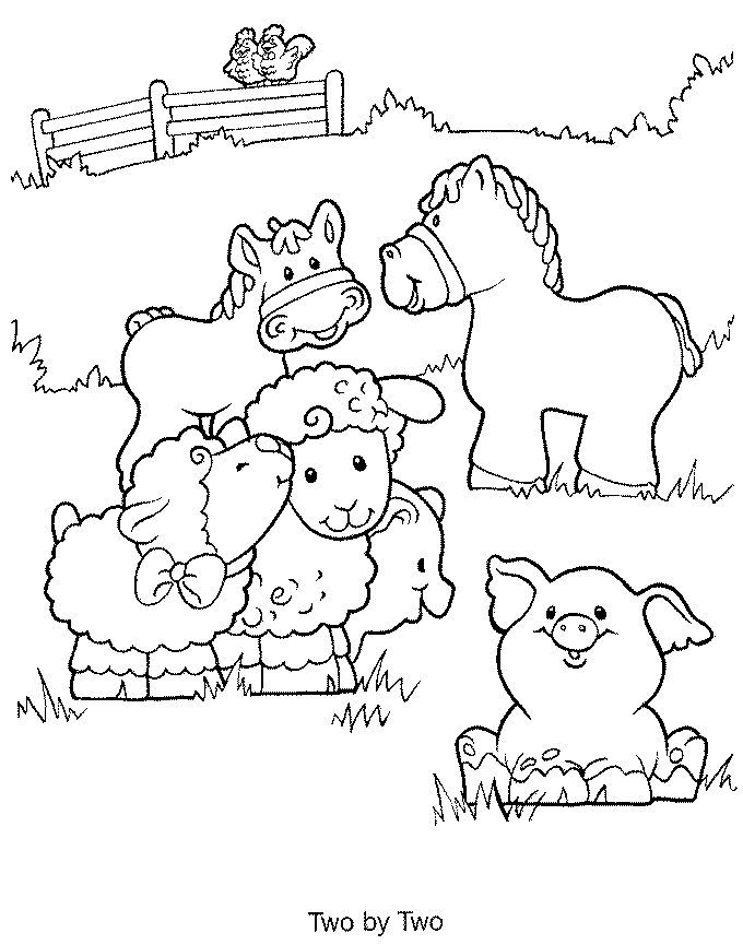 Farm Coloring Pages For Kids #5290 | Pics to Color | Coloring ...