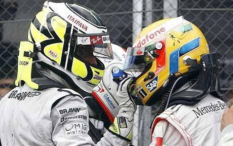 Jenson Button,  Lewis Hamilton 2009
