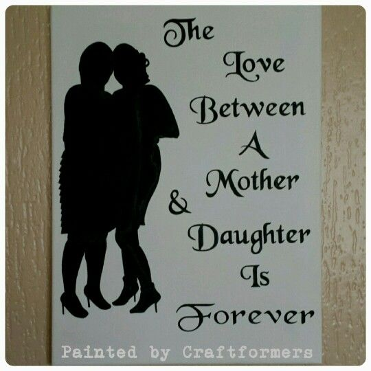 Love The Mother Child Silhouette: Silhouette Picture And Quote! 'The