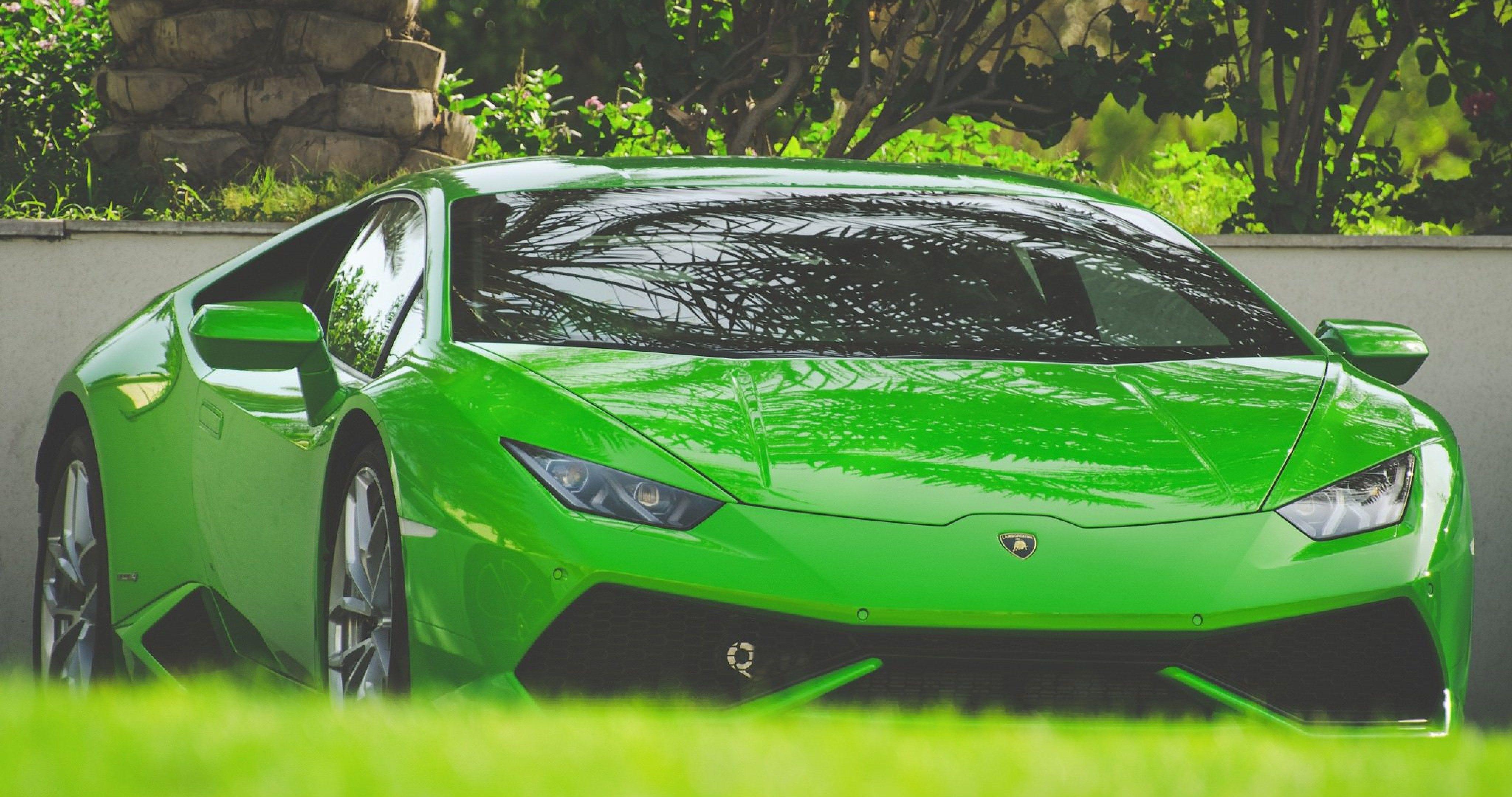 Lamborghini Aventador Green 4k Hd Cars 4k Wallpapers: Lamborghini Huracan Green 4k Ultra Hd Wallpaper