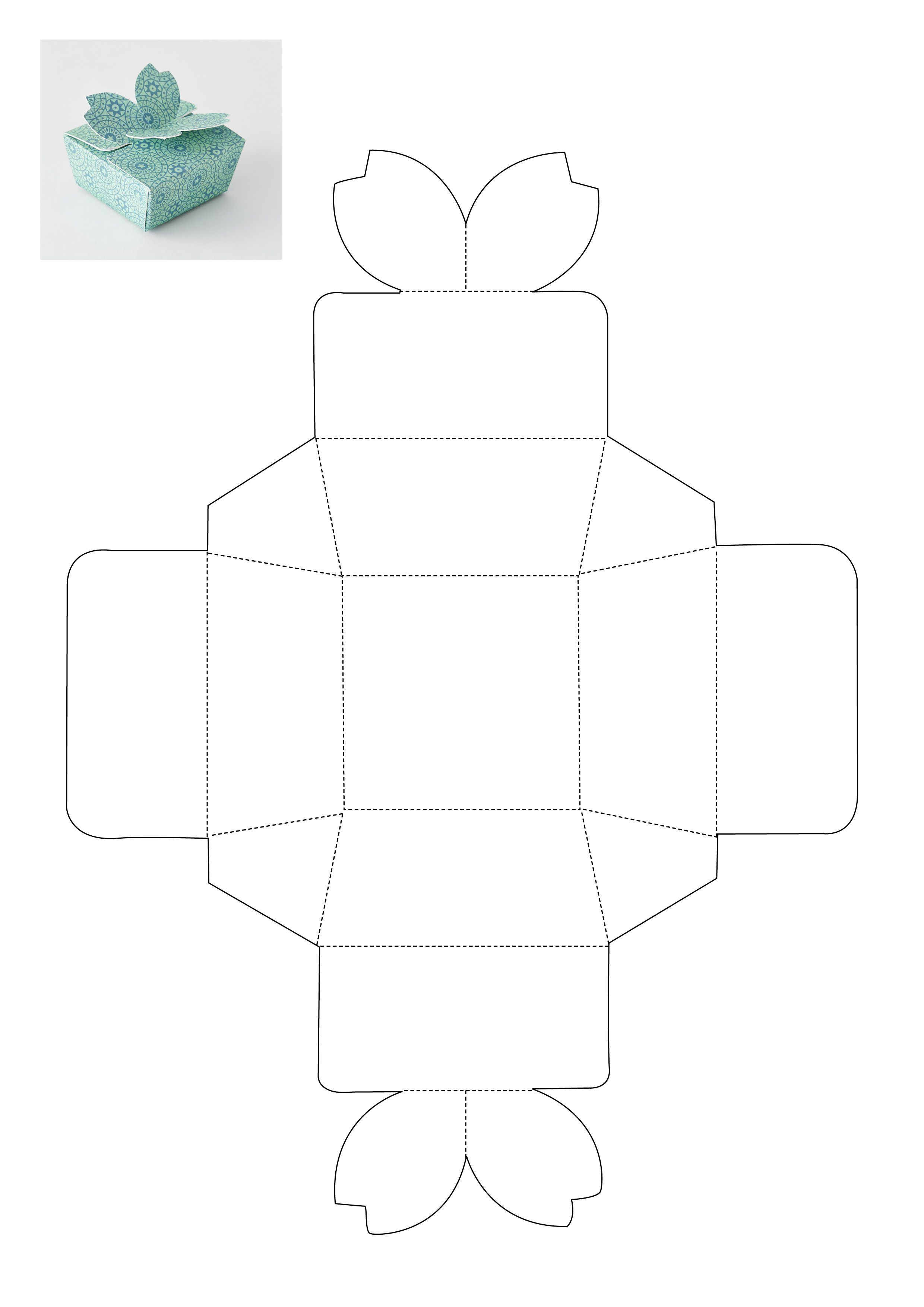 Gift box template - source: Ideas Magazine | Storage ... - photo#39
