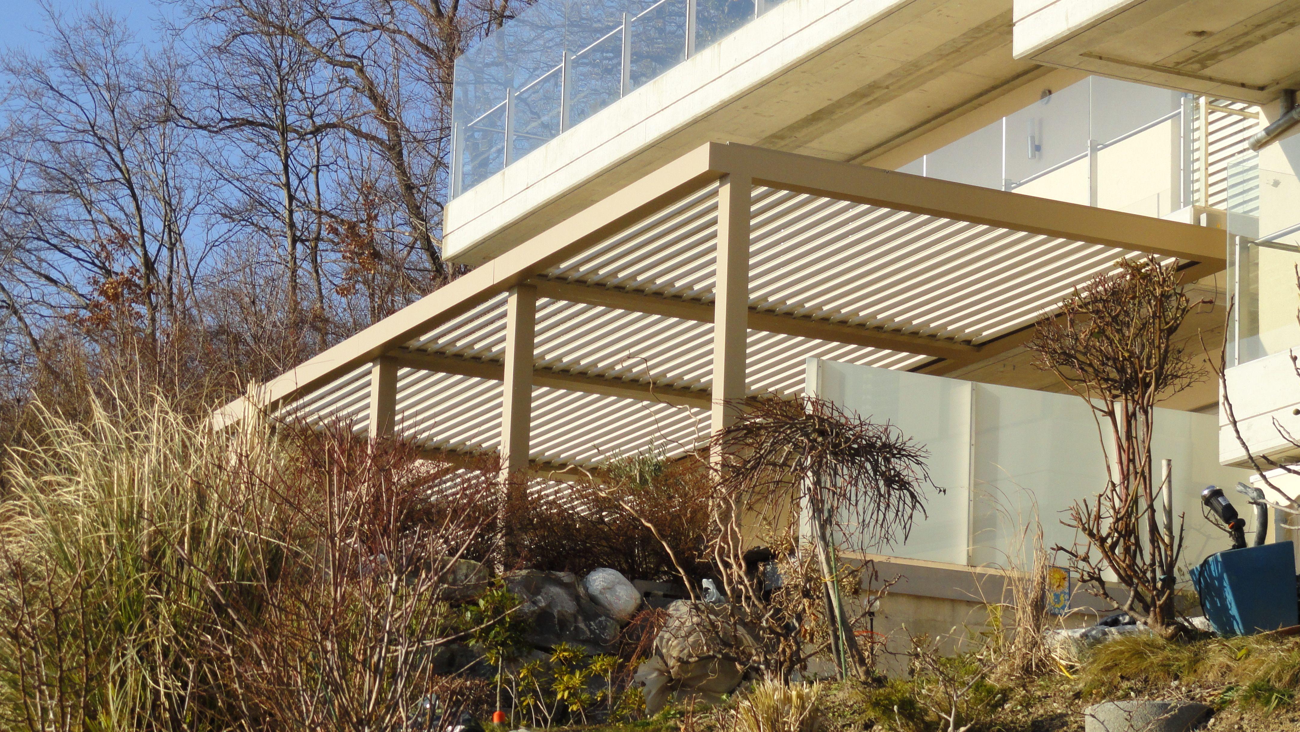 Biossun terrasoverkapping pergola couverture de terrasse | Biossun ...