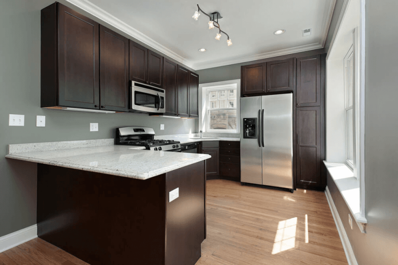 10 Most Popular Kitchen Color Ideas And Combination Colorful Kitchen Tags Kitchen Colors 2018 Popular Kitchen Co Dark Brown Kitchen Cabinets Dark Kitchen Cabinets Espresso Kitchen Cabinets