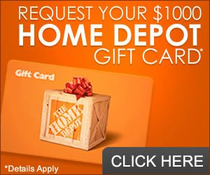 Free home depot  card http azfreebies also best the tip images on pinterest cards rh