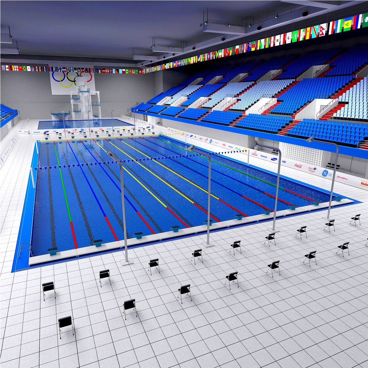 Indoor Olympic Pool Design Decorating 721024 Pool Ideas Design Indoor Swimming Pool Design Swimming Pool Architecture Diving Pool