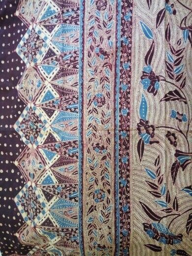 Gambar Motif Batik Jambi Angso Duo - Batik Indonesia
