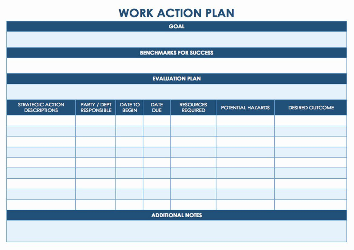 Action Plan Template Lovely Task Management Template