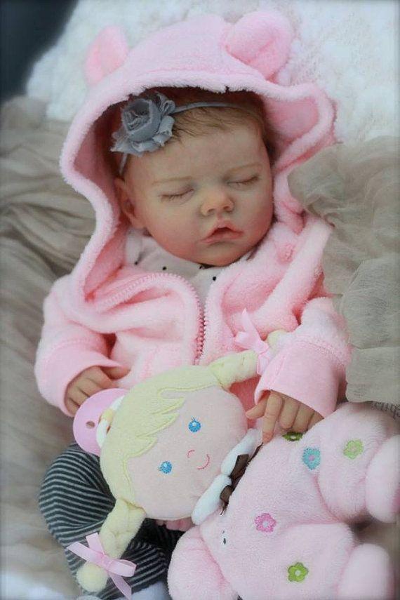 345b83d1e957 CUSTOM neonato bamboletta rinata TWIN B di Real Life Baby Dolls, Life Like  Babies,