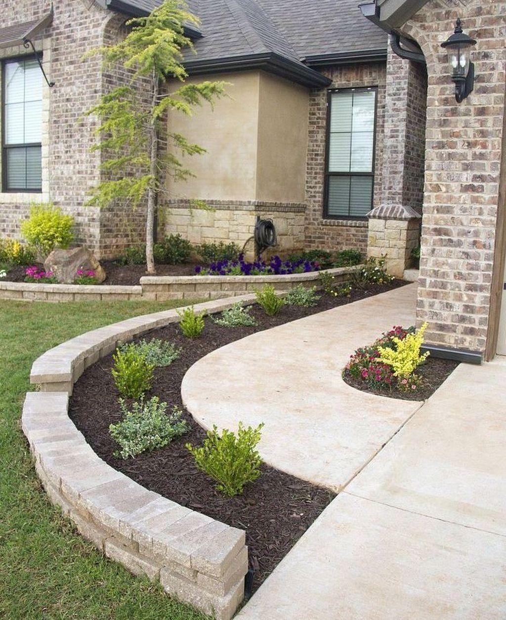Creative Cheap Garden Ideas: 36 Creative Front Yard Landscaping Ideas On A Budget