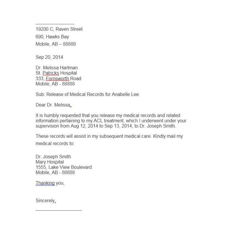 Authorization Letter Samples Letter Sample