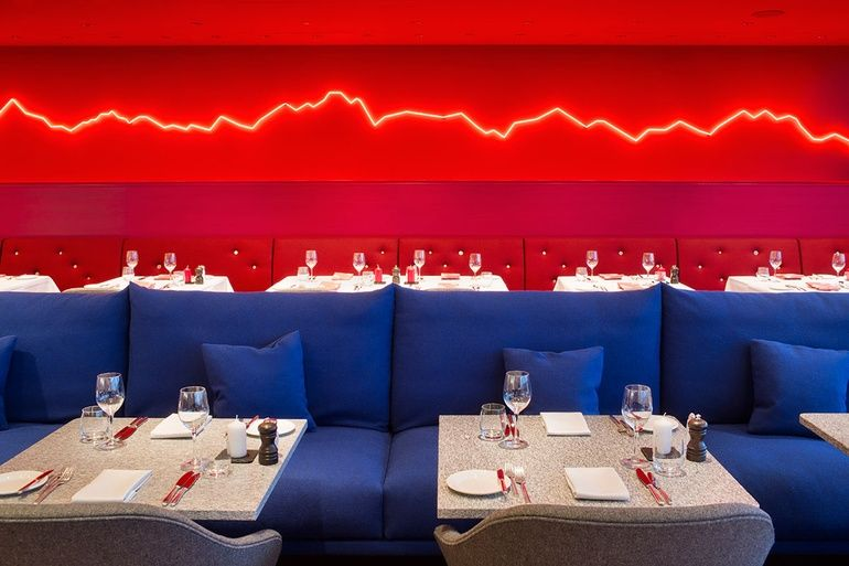Rolf Sachs Designs an Alpine Restaurant in Zurich