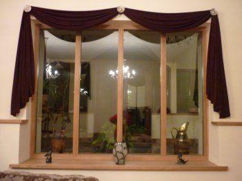 Farmhouse Window Valance Bedroom