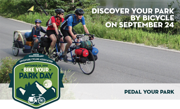 Celebrate the great outdoors on the first ever Bike Your Park Dayon…