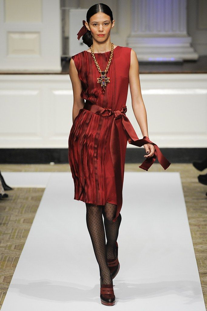 oscar de la renta pre fall 2012 fashion show oscar de la renta rh pinterest com France Fashion Show Black Fashion Show