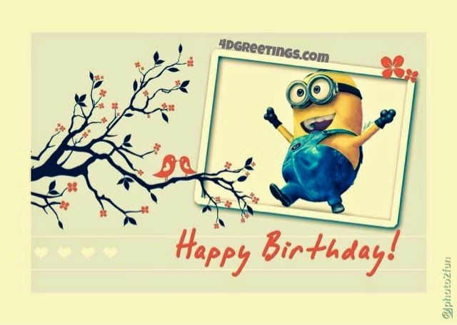 Funny Minion Quotes And Sayings From Minions Movie: Happy Birthday ...