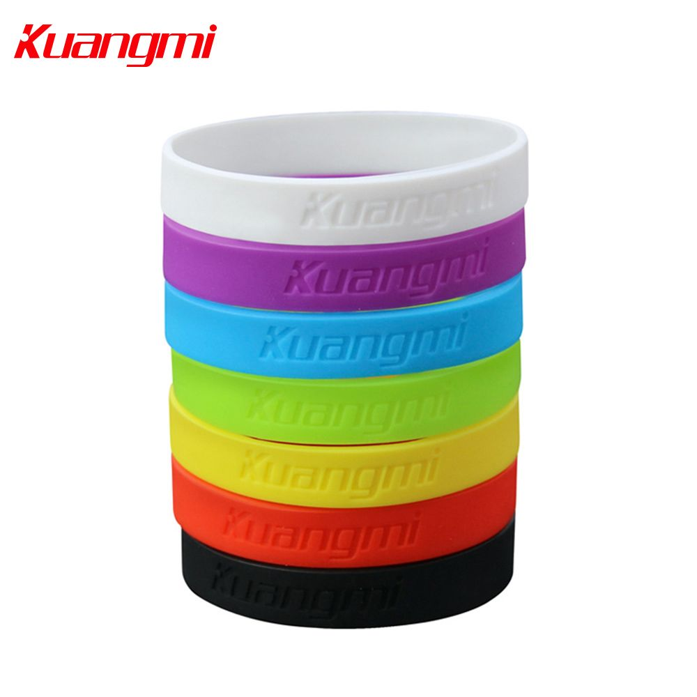 Kuangmi pieces colorful bracelet wristband basketball cycling
