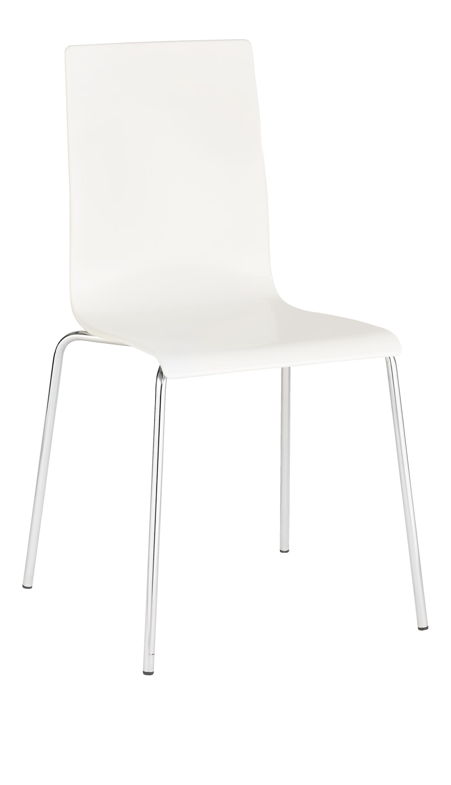 VERDI Esszimmerstühle Weiß Metall Plastik | Küchenstühle | Pinterest