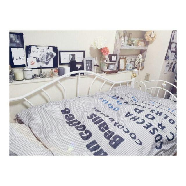 maiさんのベッドコーディネート