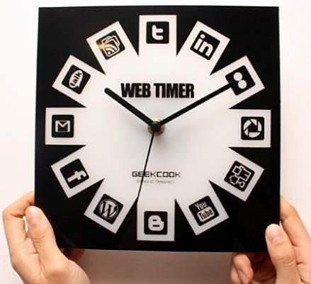 There's always time for social media