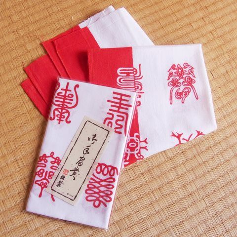 Japanese towel – Kotobuki (celebration)